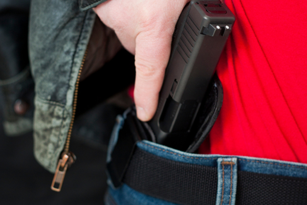 A Florida concealed carrier used his gun to capture a stabbing suspect.
