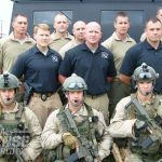 The 12-man Kentucky State Police Special Response Team.