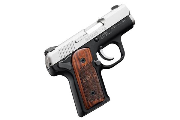 Kimber Solo Carry with Rosewood Grips