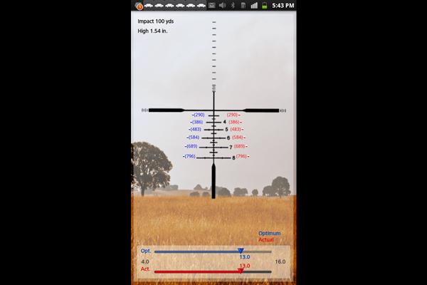 Zeiss Ballistic Calculator mobile app