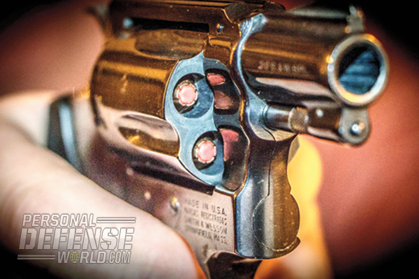 Loaded with Hornady Critical Defense 110-grain loads, the author's .38 Spl. S&W J-Frame is an effective and accurate fight-stopper.