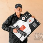 The MPAR556-P proved highly accurate at 25 yards, producing a best group of 0.64 inches with Hornady V-Max ammo.