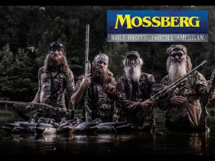 """Just like us, Mossberg is a company that was built on traditional family values, dedication and our great American heritage of hunting and shooting,"" commented Phil Robertson, family patriarch and founder of Duck Commander, Inc., ""this partnership between our two families brings our roots and passion for waterfowl hunting front and center. Now our loyal fan base can shoot the same guns we do."""