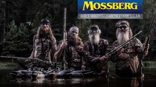 """""""Just like us, Mossberg is a company that was built on traditional family values, dedication and our great American heritage of hunting and shooting,"""" commented Phil Robertson, family patriarch and founder of Duck Commander, Inc., """"this partnership between our two families brings our roots and passion for waterfowl hunting front and center. Now our loyal fan base can shoot the same guns we do."""""""