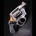 As its name denotes, the Taurus 85 View features a translucent Lexan sideplate that allows you to see the internal workings of the double-action trigger mechanism. As practical as it is unique, the View is one of the lightest and smallest .38 revolvers on the market today.