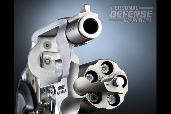 The View's titanium barrel has a rifled, stainless steel liner.