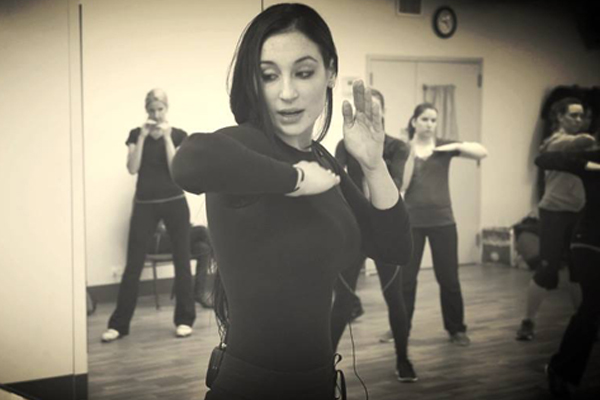 Avital Zeisler -- creator of the popular Soteria Method of self-defense -- shared self-defense tips for college students at the Today Show this morning. (Photo: Facebook)