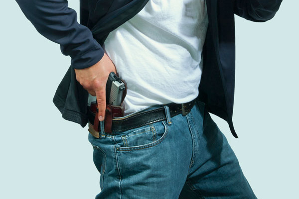 A concealed carrier stopped a pair of armed robbers in Macon, Georgia.