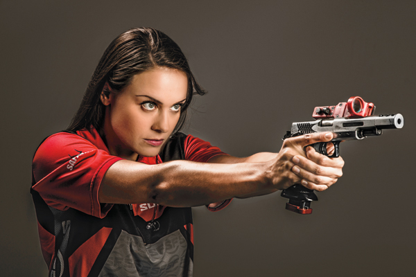 The skills and confidence Maggie Reese has accrued as a competitive shooter apply not only to the shooting course, but also to street self-defense and to life generally.