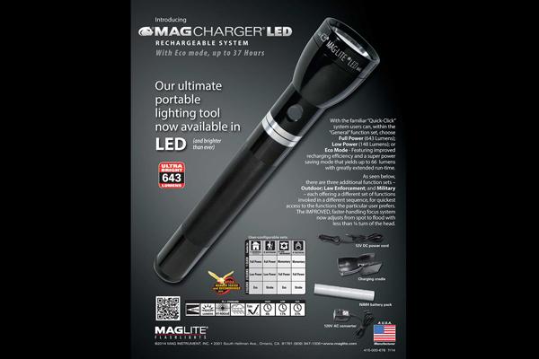 Maglite Mag Charger LED Flashlight
