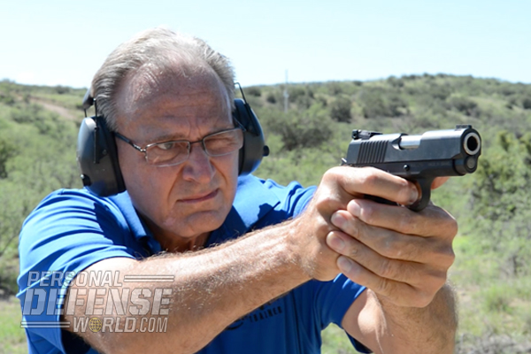 Mike Detty put the Desert Eagle 1911U and Desert Eagle Mark XIX through its paces on the range.
