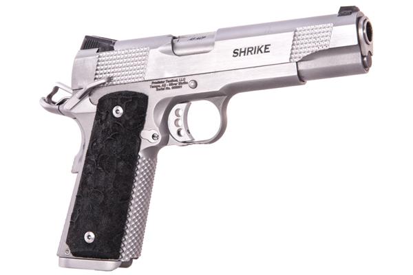 Predator Tactical's 1911 Silver Shrike Handgun
