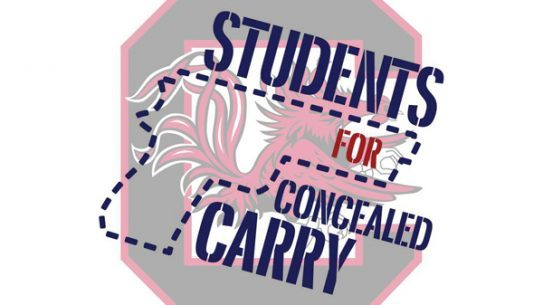 USC Students for Concealed Carry are carrying empty holsters on campus to protest the law against allowing guns on school property.
