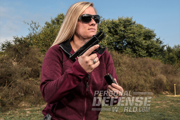 Irwin Sportsmen's Association in Irwin, PA teaches a women's pistol course twice a month from April through August.