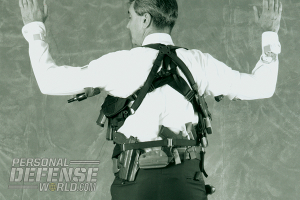 The author's record number of concealed handguns at one time is a staggering 32.