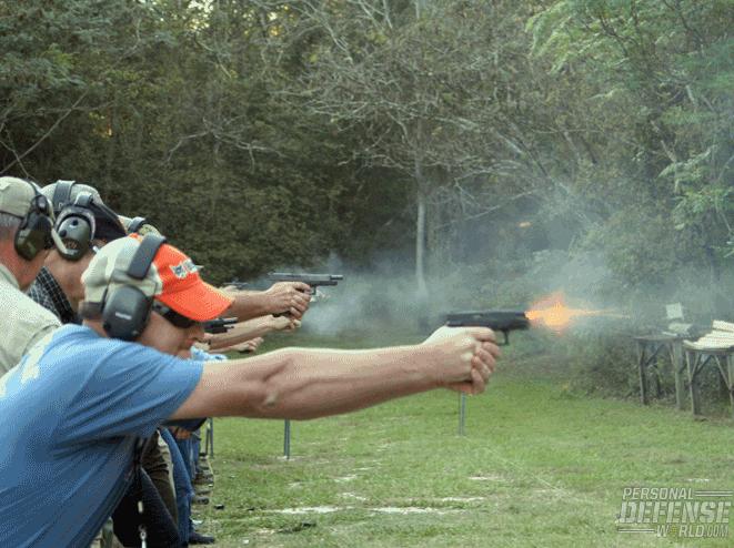 correct shooting stance
