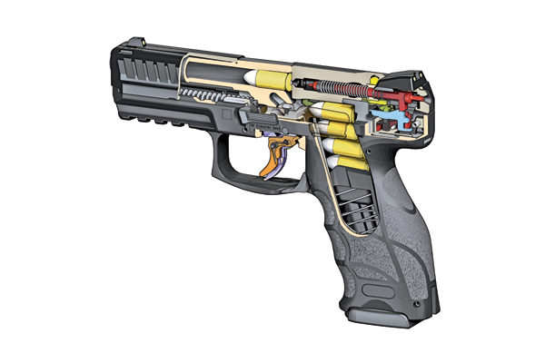 HK's engineers had a wealth of striker-fired pistol experience from which to draw when designing the new VP9.