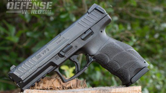 """""""Heckler & Koch's newest pistol, the VP9, is an effective polymer-framed, striker-fired gun."""""""