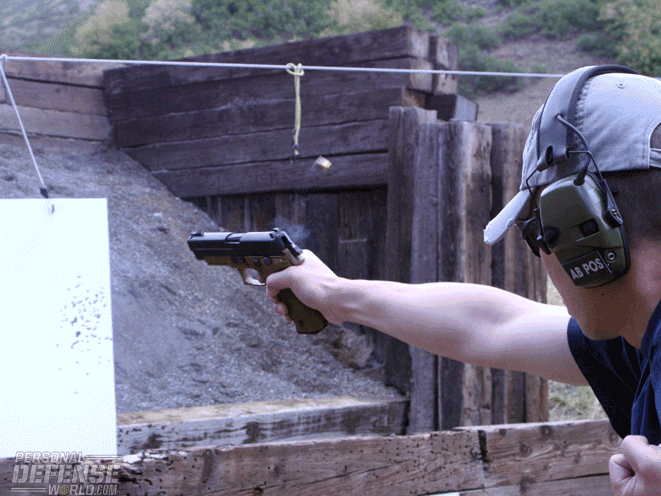 one-hand shooting