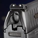 Walther PPQ M2 rear sight