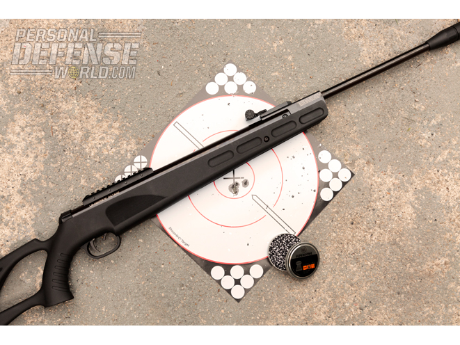 At the range, the Umarex Octane was able to produce half-inch groups at 25 yards using RWS Supermag Field Line .177 pellets.