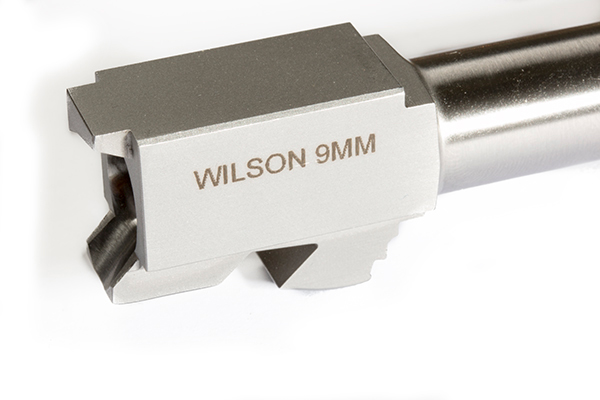Wilson Combat's match grade barrel for Glock 34