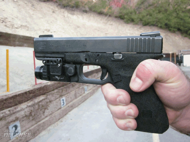 Handgun Accessory Rails