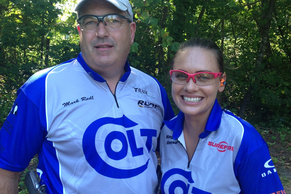 Colt's Mark Redl and Maggie Reese