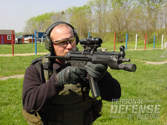 Elite military and LE operators have long used submachine guns like the HK MP5 when they needed compact, concealable firepower.