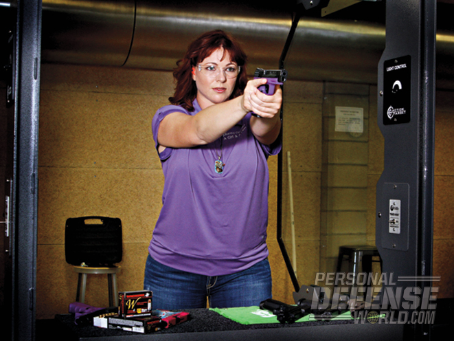 Busy leading A Girl & A Gun, Julianna still makes time to shoot regularly.