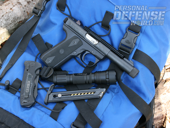 """""""A trail gun, like a bug-out bag gun, should be lightweight, reliable and accurate."""""""