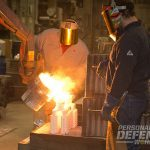Ruger's factory BTS Pouring metal