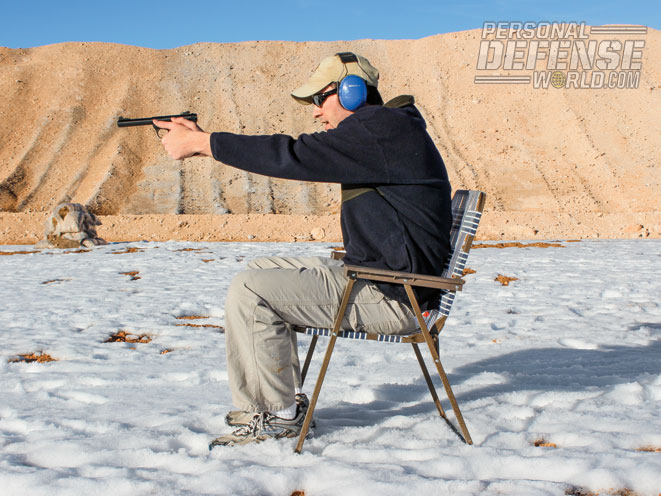 Mix it up and use your imagination. Train with your .22 from as many positions as possible.