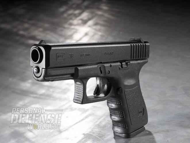 .45 GAP glock