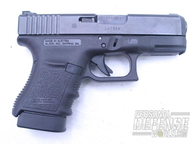One of the author's .45 Glocks