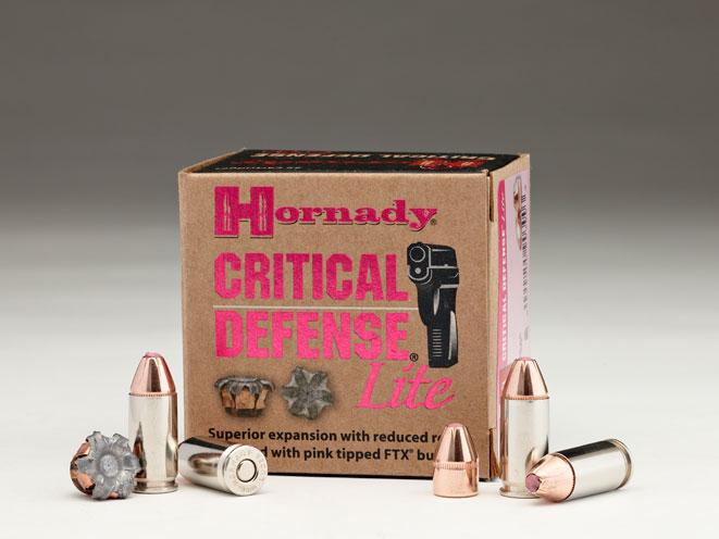 Hornady Critical Defense Lite 9mm