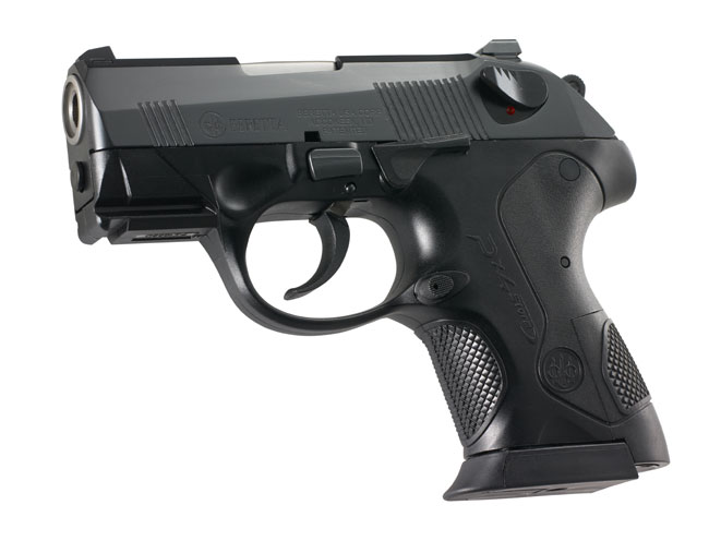 The PX4 Storm SubCompact is among the smallest hi-capacity 9mm and .40 S&W polymer framed handguns in the world with 13+1 and 10+1 capacity.