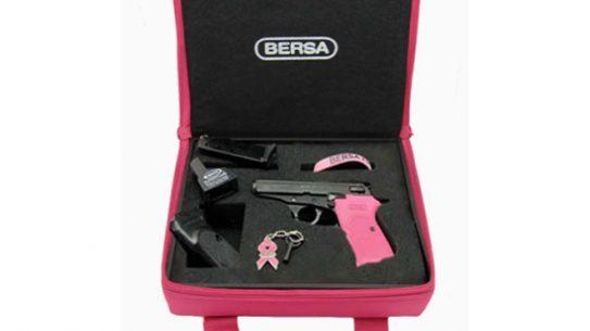 Bersa Thunder 380 Matte/Pink Breast Cancer Awareness Kit, breast cancer awareness, bersa thunder 380, versa gun