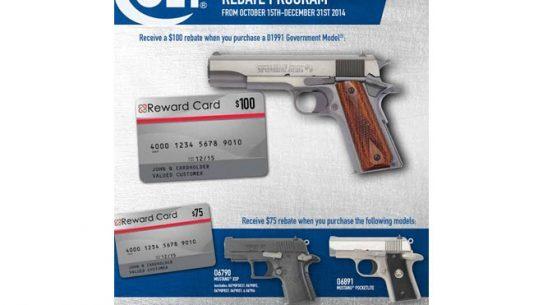 Colt Rebate Program, colt, colt sale