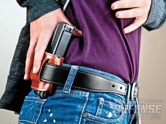concealed, concealed carry, concealed carry full size, full size gun, how to concealed carry