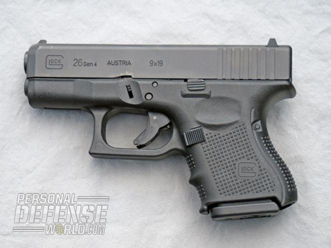 Glock 26 Gen4 9mm, glock, glock 26