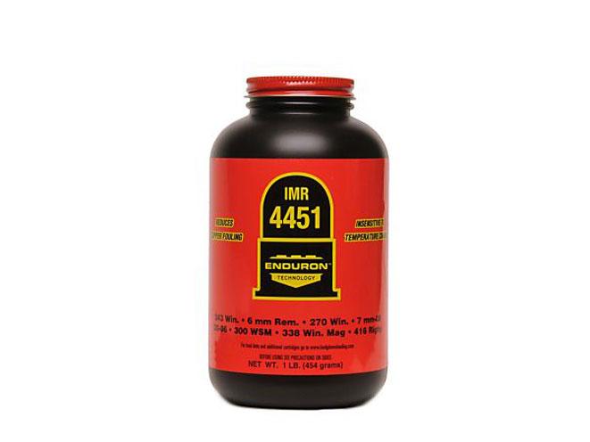 IMR 4451, IMR Legendary powders, IMR Enduron