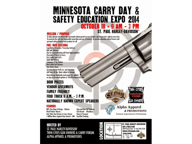 minnesota, carry day, carry day expo, minnesota carry day expo, carry day safety expo