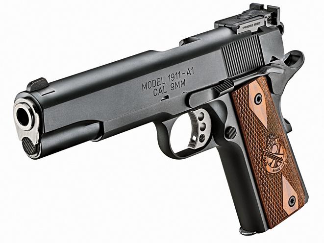 Springfield Armory Range Officer, springfield armory, 1911 guns, 9mm