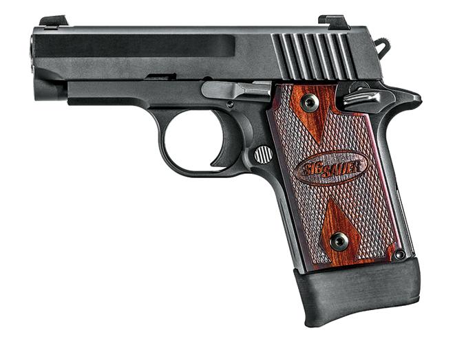 CCW, Sig Sauer P938 22LR Rosewood, sig sauer, rimfire gun