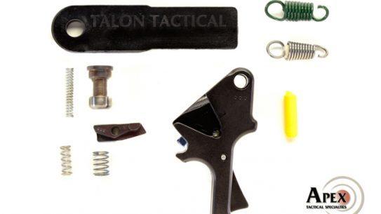 Apex Tactical's Flat-Faced Forward Set Sear & Trigger Kit, apex tactical