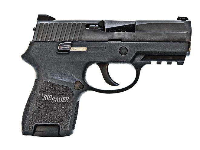 sig sauer, sig sauer p250, sig sauer handguns, Sig Sauer P250 Subcompact Nitron
