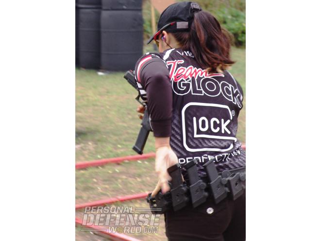 Team GLOCK's Michelle Viscusi, michelle viscusi, michelle viscusi glock