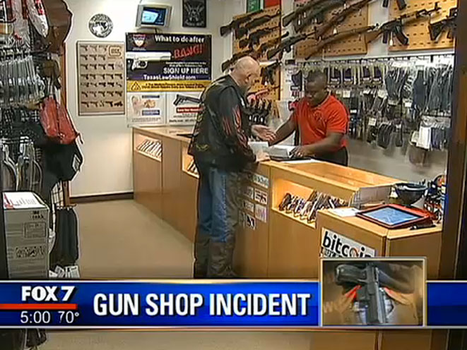 Texas Gun Store Owner Stops Mass Shooting, texas gun store, central texas gun works