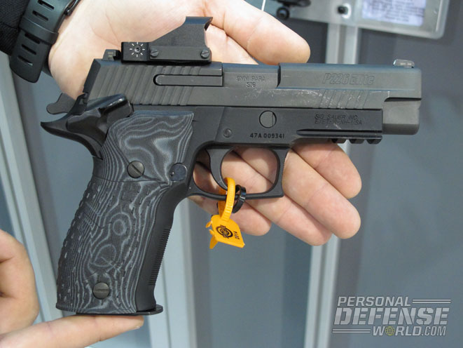 Sig Sauer P226, handguns, reflex sights